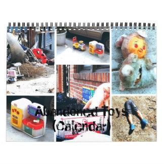 Calendario: Juguetes abandonados