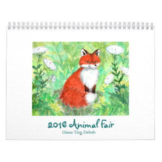 Calendario justo animal 2017