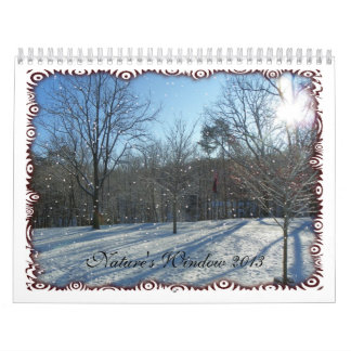 Calendario la ventana 2013 de la naturaleza