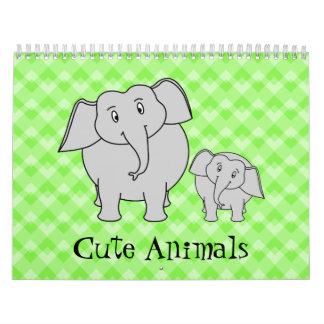 Calendario lindo 2014. de los animales