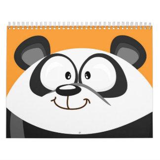 Calendario lindo de los animales del círculo para
