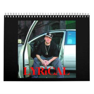 Calendario LÍRICO 2008