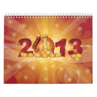Calendario lunar chino del Año Nuevo 2013