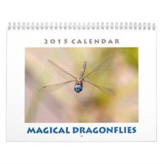 Calendario mágico 2015 de las libélulas