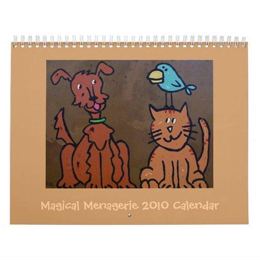 Calendario mágico de la casa de fieras 2010
