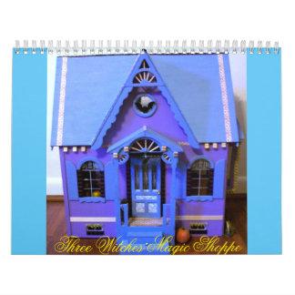 Calendario mágico del Shoppe de tres brujas