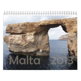 calendario Malta 2013 de la foto