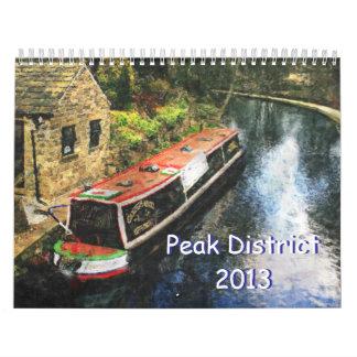 Calendario máximo del distrito 2013