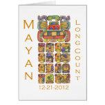Calendario maya 12-21-2012 felicitación