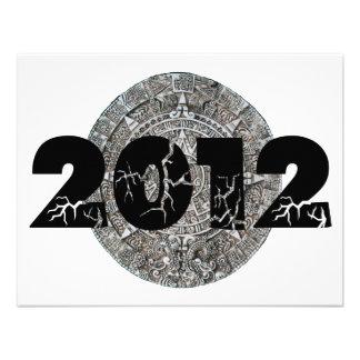 Calendario maya 2012 invitacion personalizada