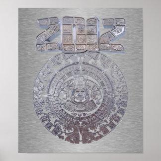 Calendario maya 2012 poster