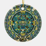 calendario maya adorno