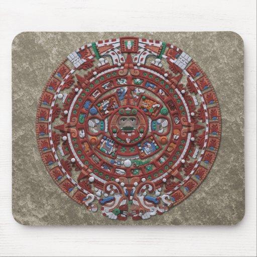 Calendario maya alfombrilla de ratones