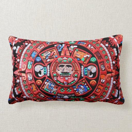 Calendario maya almohada