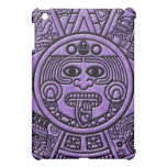 Calendario maya antiguo del maya en púrpura