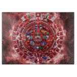 Calendario maya brillante tablas de cortar