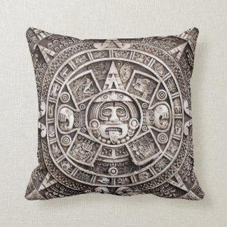 Calendario maya cojín decorativo