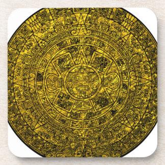 Calendario maya posavasos