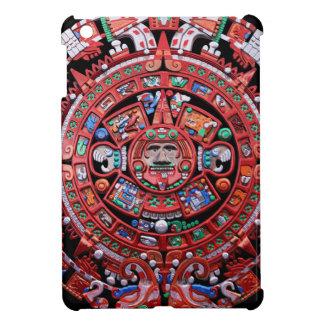 Calendario maya de Sunstone del metal iPad Mini Fundas