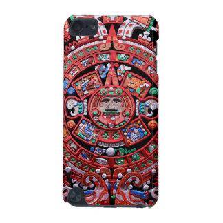 Calendario maya de Sunstone del metal Funda Para iPod Touch 5G