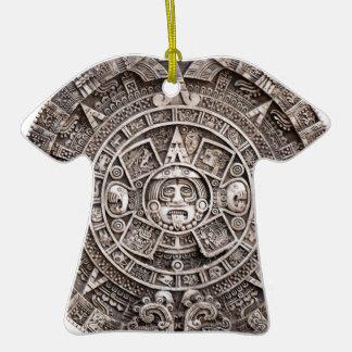 Calendario maya adornos
