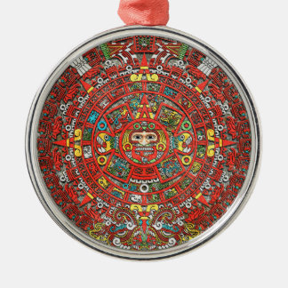 Calendario maya ornamentos para reyes magos
