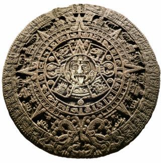 Calendario maya escultura fotografica
