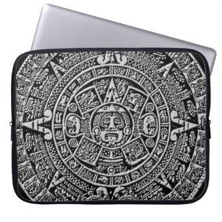Calendario maya fundas portátiles