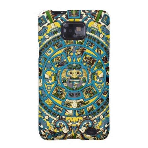 calendario maya galaxy SII fundas