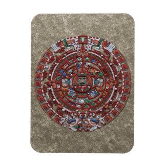 Calendario maya iman de vinilo
