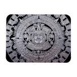 Calendario maya iman rectangular