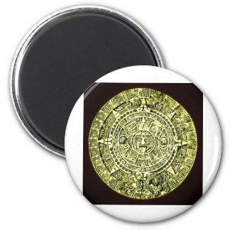 calendario maya imán redondo 5 cm