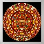 calendario maya impresiones