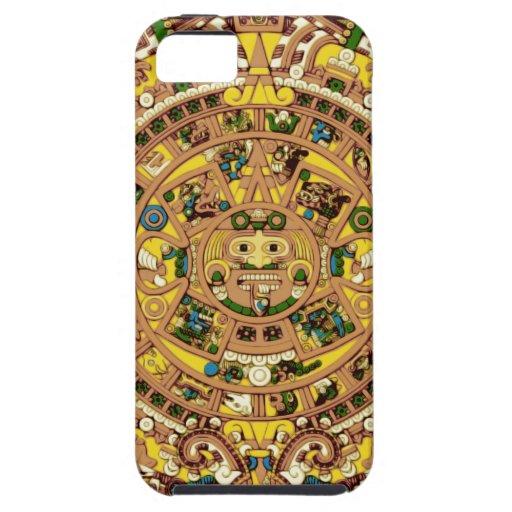 calendario maya iPhone 5 Case-Mate funda