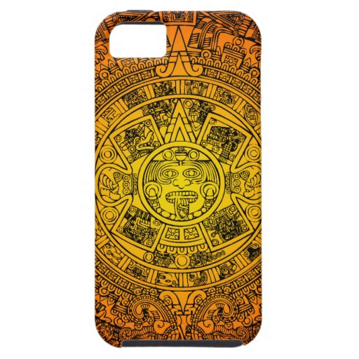 Calendario maya iPhone 5 funda