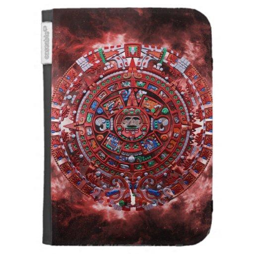 Calendario maya llameante