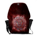 Calendario maya llameante bolsa de mensajeria