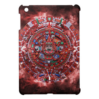Calendario maya llameante iPad mini protectores