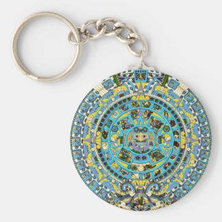 calendario maya llavero personalizado