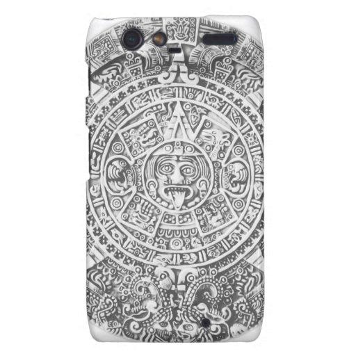 calendario maya motorola droid RAZR funda