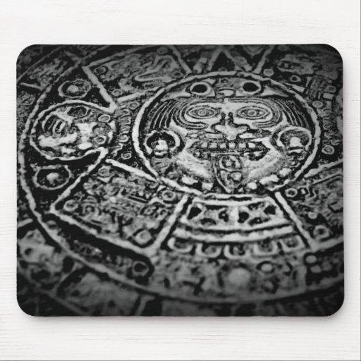 Calendario maya Mousepad