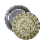 Calendario Maya Pin Redondo 5 Cm