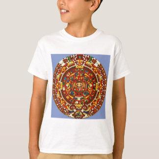 calendario maya playera
