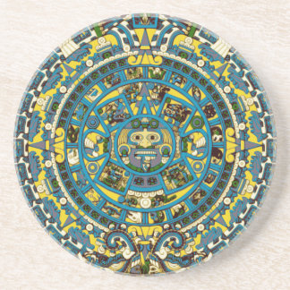 calendario maya posavasos manualidades