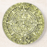 calendario maya posavaso para bebida