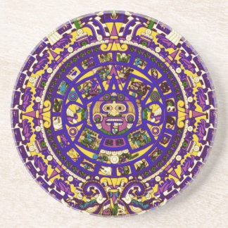 calendario maya posavasos cerveza