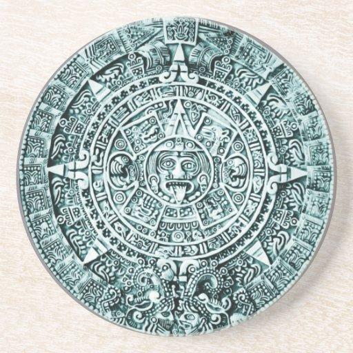 calendario maya posavasos para bebidas