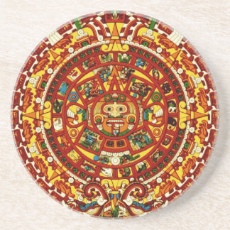 calendario maya posavasos personalizados