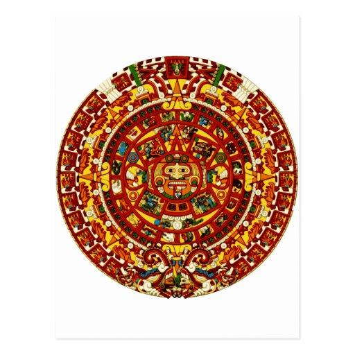 calendario maya postales