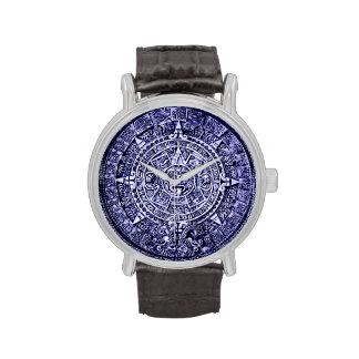 calendario maya reloj de mano